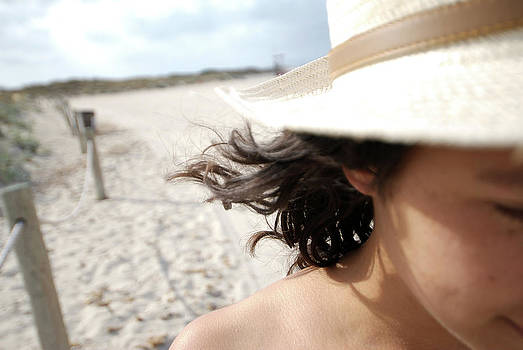 Nano Calvo - Young woman in Formentera