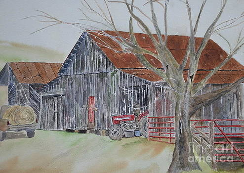Mr. Posey's Barn by Peggy Dickerson