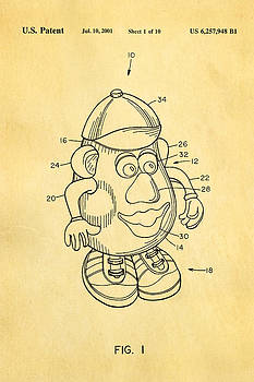 Ian Monk - Mr Potato Head Patent Art 2001