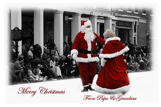 Randall Branham - Mr.and Mrs Santa Claus Dancing