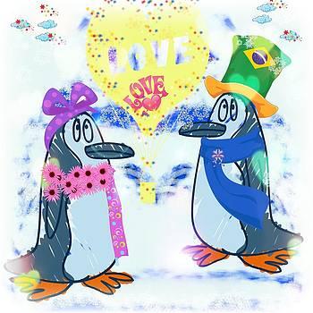 Mr.Penguin in love by Siva Guru