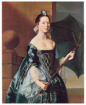 John Singleton Copley - Mrs Benjamin Pickman