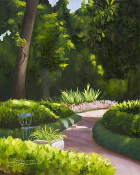 Mrs. Turner's Garden at Rienzi Gardens by Gary  Hernandez