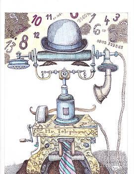 Mr.Telephone by Kyra Munk Matustik