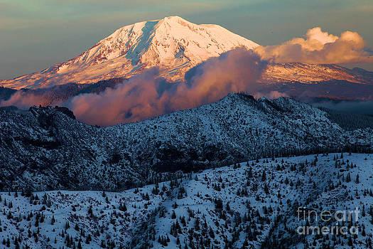 Adam Jewell - Mt Adams Sunset