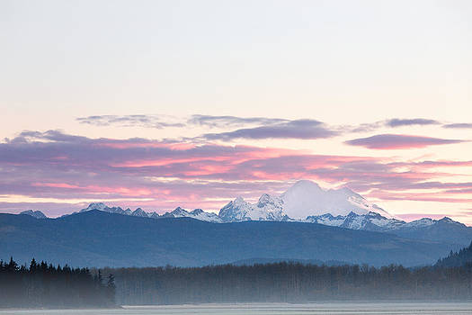 Mt Baker Sunrise by David Williams