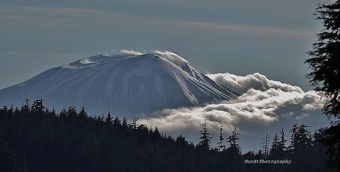 Mt Edgecumbe by Barbara Mundt