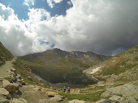 Mt Evans Reflection by Rick Lecture