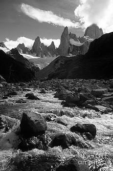 James Brunker - Mt Fitzroy in Monochrome