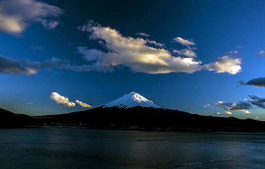 Matt Swinden - Mt Fuji at sunset