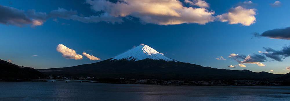 Matt Swinden - Mt Fuji at Sunset pano
