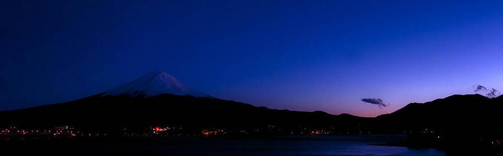 Matt Swinden - Mt Fuji at Twilight Pano