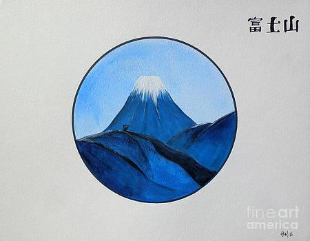 Mt Fuji  by Gordon Lavender