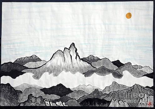 Mt. Himang by Taikan Nishimoto