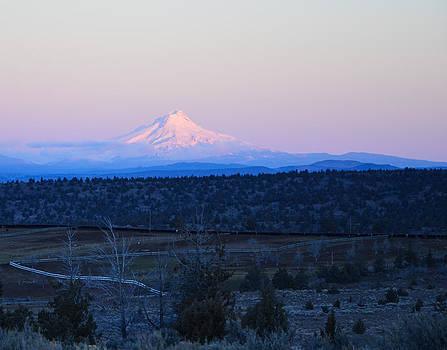 Mt Hood at dawn by Linda Larson