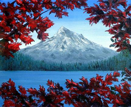 Mt Hood Autumn by Kenny Henson