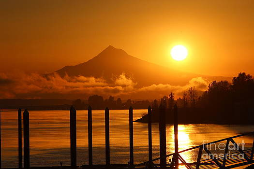 Mt Hood Sunrise by Erik Barker