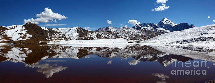 James Brunker - Mt Huayna Potosi Panorama