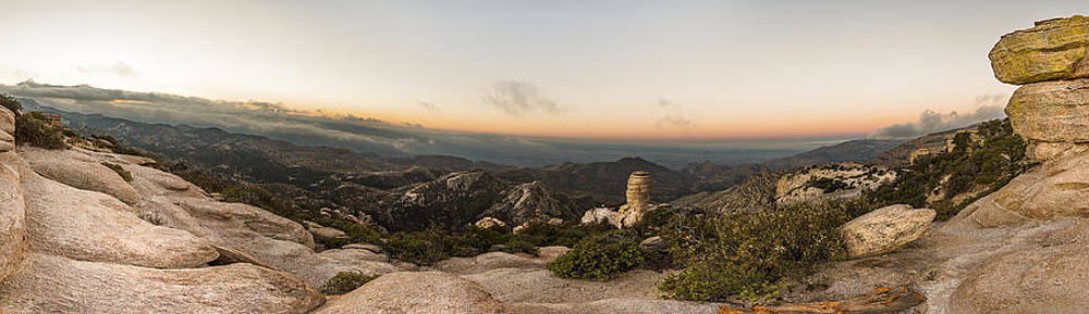 Chris Bordeleau - Mt. Lemmon Windy Point Panorama