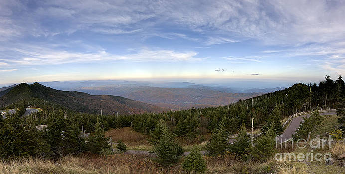 Mt Mitchell Blue Ridge Parkway by Dustin K Ryan