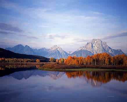Scott Wheeler - Mt. Moran and Fall Aspen