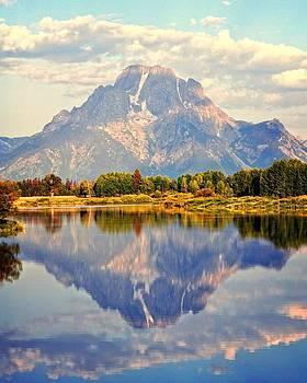 Marty Koch - Mt. Moran At Sunrise