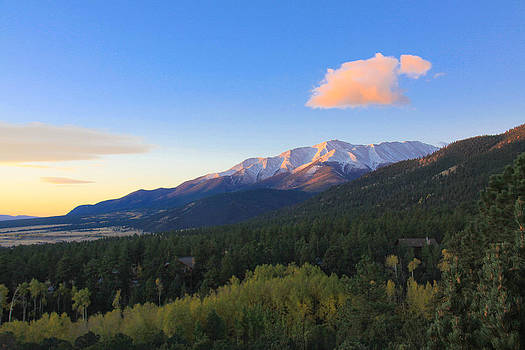 Mt. Princeton Morning by Charys Photography