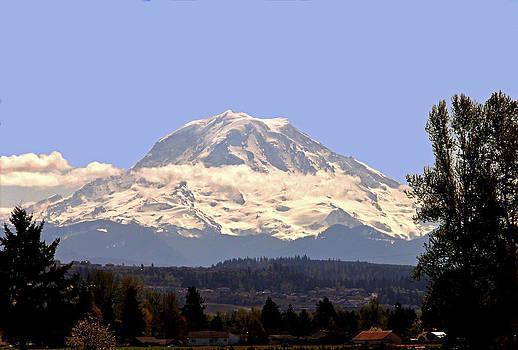 Mt. Rainier by Charlene Reinauer