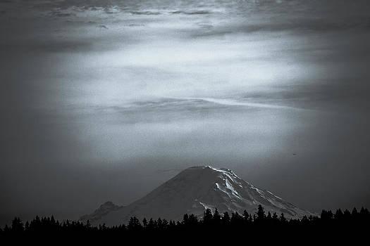 Ronda Broatch - Mt. Rainier in Black and White
