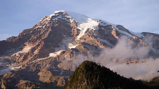 Mt Rainier Sunset by Scott Nelson
