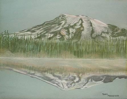 Mt Rainier by Terry Frederick