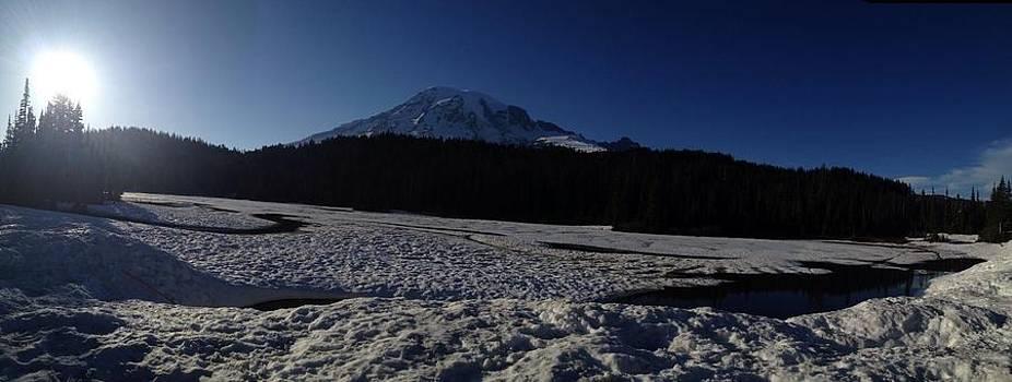 Mt Rainier by Whitney Nanamkin