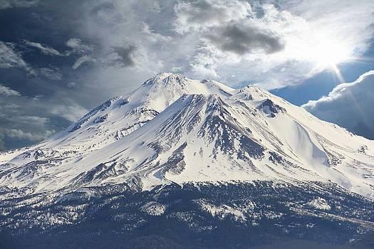 Mt Shasta by Athala Carole Bruckner