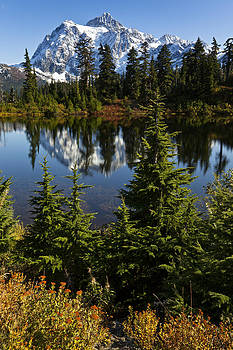 Mt Shuksan Reflection by Ross Murphy