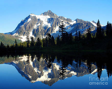Douglas Taylor - MT. SHUKSAN SILHOUETTES AND REFLECTIONS  ll