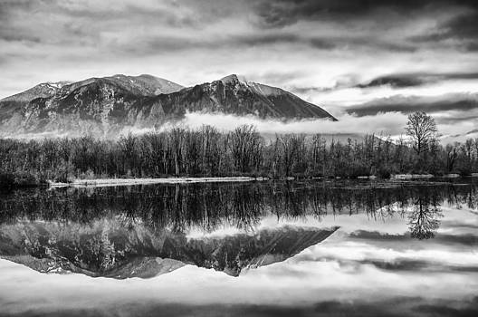 Mt. Si Reflections by Kyle Wasielewski