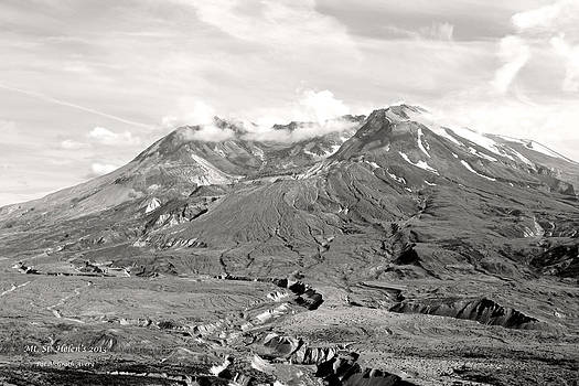 Mt St Helen's by Pat McGrath Avery