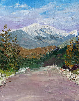 Mt Washington from Pear Mountain by Sharon E Allen