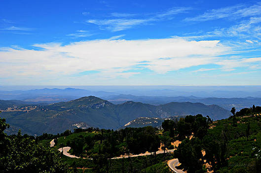 Sharon Tate Soberon - Mtn Top View of the Road