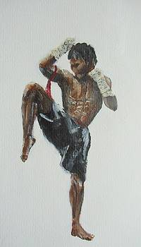 Muay Thai Fighter by Rafal Kilimnik