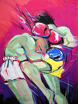 Muay thai by Lucia Hoogervorst