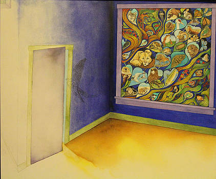 Much in the Window Little in the Room by J Tanner