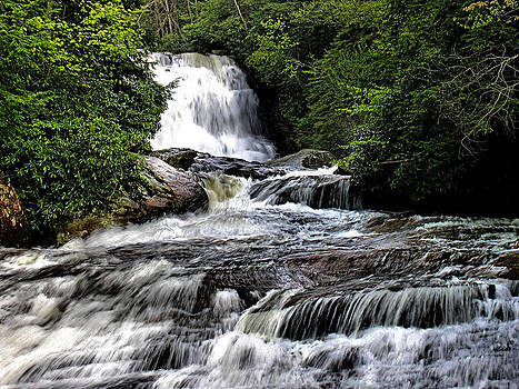 Matthew Winn - Muddy Creek Falls in Summer
