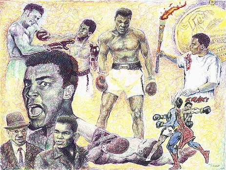 Muhammad Ali by Charles  Bickel
