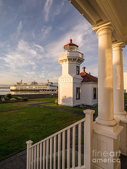Mukilteo Lighthouse 2 by Tracy Knauer
