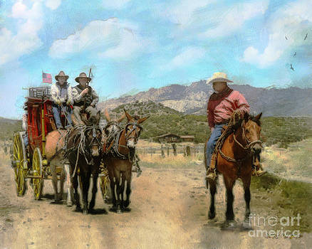 Rhonda Strickland - Mule Skinners