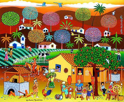 Mulheres Rendeiras by Militao Dos Santos Militao