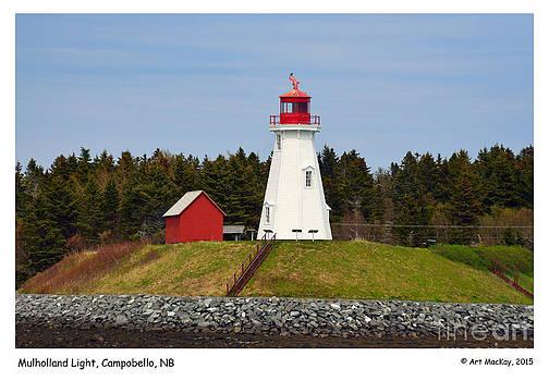 Art  MacKay - Mulholland Lighthouse Campobello NB