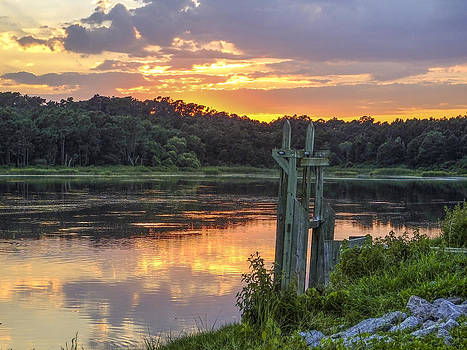 Terry Shoemaker - Mullet Pond Sunset