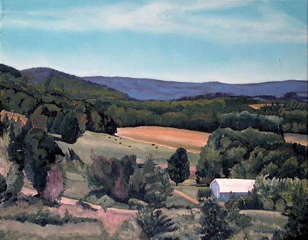 Mulmar Hills No 1 by Joan McGivney